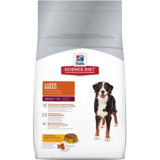 Hill's Science Diet Adult Large Breed Chicken & Barley Recipe 15kg Dog Dry Food