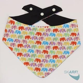 SKARF! Elephant White Pet Bandana