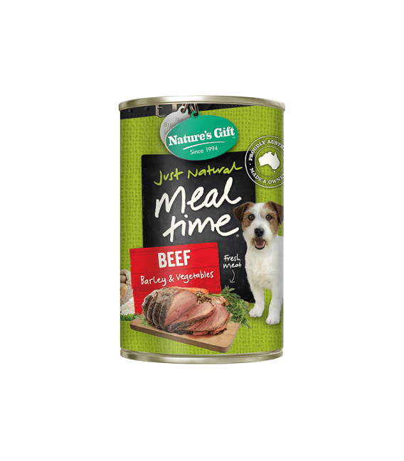 Nature's Gift Meal Time Puppy Beef Formula 380g Dog Wet Food
