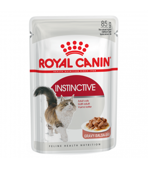 Royal Canin Feline Adult Instinctive 85g Cat Wet Food