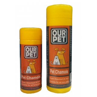 Our Pet Chamois Drying Towel for Pets