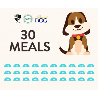 DONATE 30 MEALS OF SPECIAL DOG DRY FOOD