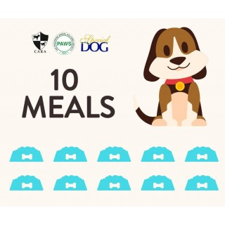 DONATE TO PAWS 10 MEALS OF SPECIAL DOG DRY FOOD