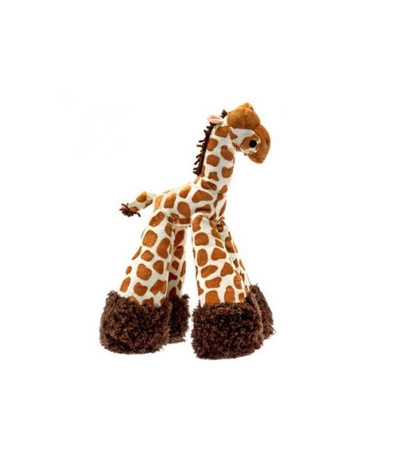 Patchwork Pet Mini Giraffe 6 inch Pet Toy