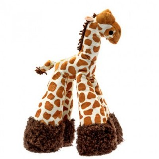 Patchwork Pet Mini Giraffe 6 inch Pet Toy