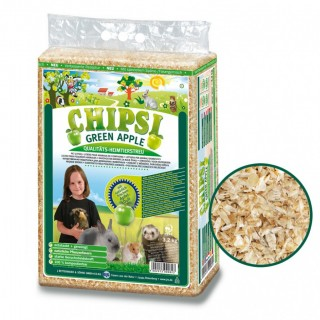 Chipsi Plus GREEN APPLE 3.2kg Small Pet Bedding