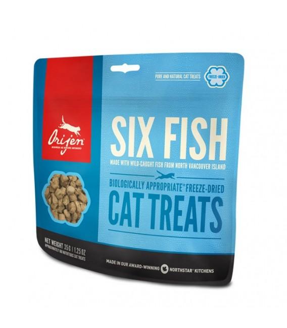 Orijen Six Fish 35g Cat Treats