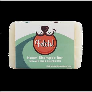 Fetch! Organic Neem Shampoo Bar with Aloe Vera & Essential Oils 100g