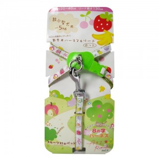 DoggyMan Harness & Lead/Leash Set - Fruits Village