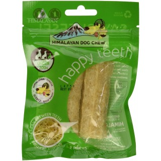 Himalayan Dog Chew Happy Teeth Cheese for dogs under 20lbs Grain Free Dog Treats