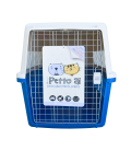 Petto Ai Airline Approved Pet Carrier Crate - LIGHT BLUE