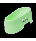 Petto Ai Plastic Pet Bowl - GREEN