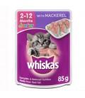 Whiskas Junior Mackerel 85g Cat Wet Food