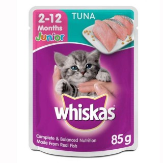 Whiskas Junior Tuna 85g Cat Wet Food