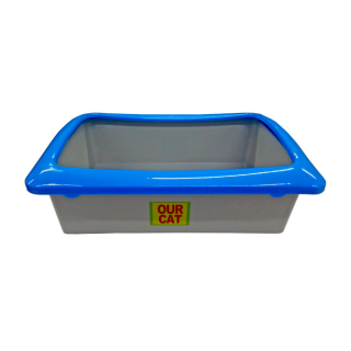 Our Cat RECTANGLE Cat Litter Pan Box