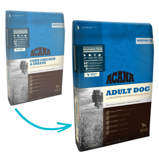 Acana Heritage Adult Dog Dry Food