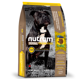 Nutram T25 TROUT & SALMON MEAL Recipe Grain Free Dog Dry Food
