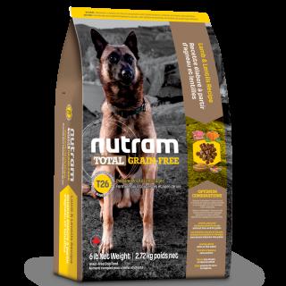 Nutram LAMB & LENTILS Recipe Grain Free Dog Dry Food