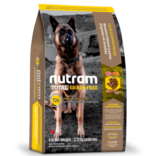 Nutram T26 LAMB & LENTILS Recipe Grain Free Dog Dry Food