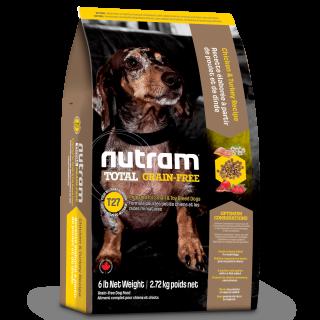 Nutram SMALL BREED CHICKEN & TURKEY Recipe Grain Free Dog Dry Food
