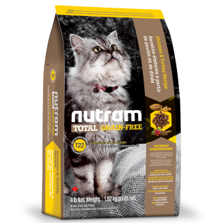 Nutram CHICKEN & TURKEY Grain Free Cat Dry Food