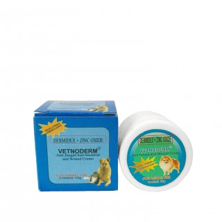Vetnoderm Anti-Fungal, Anti-Bacterial & Wound Cream 10g