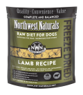 Northwest Naturals RAW DIET for Dogs - Freeze Dried Nuggets LAMB RECIPE 340.19g (12oz)