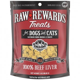Northwest Naturals BEEF LIVER 85.05g (3oz) Dog & Cat Treats