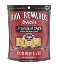 Northwest Naturals Raw Rewards BEEF LIVER 85.05g (3oz) Dog & Cat Freeze Dried Treats