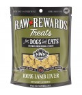 Northwest Naturals Raw Rewards LAMB LIVER 85.05g (3oz) Dog & Cat Freeze Dried Treats