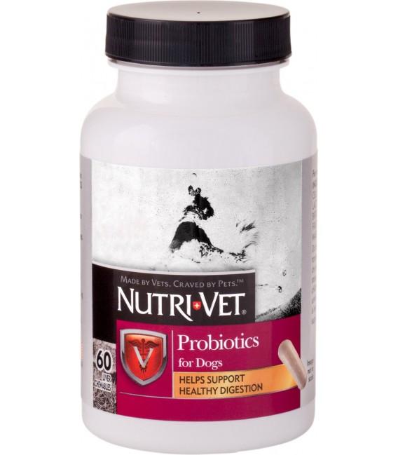 Nutri-Vet Shed-Defense Max 60 Chewables Dog Supplement