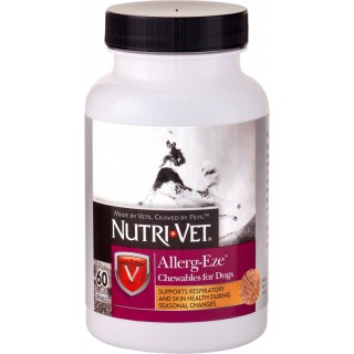 Nutri-Vet Allerg-Eze 60 Chewables Dog Supplement