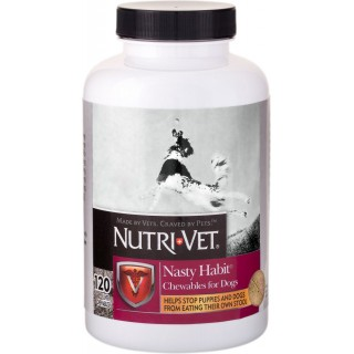 Nutri-Vet Pet-Ease 60 Chewables Dog Supplement