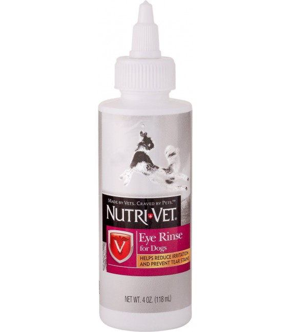 Nutri-Vet Eye Rinse 118ml Dog Eye Rinse