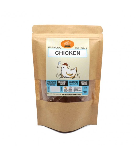 Pawfect Plate Bailey Bites - CHICKEN 50g Dehydrated Pet Treats