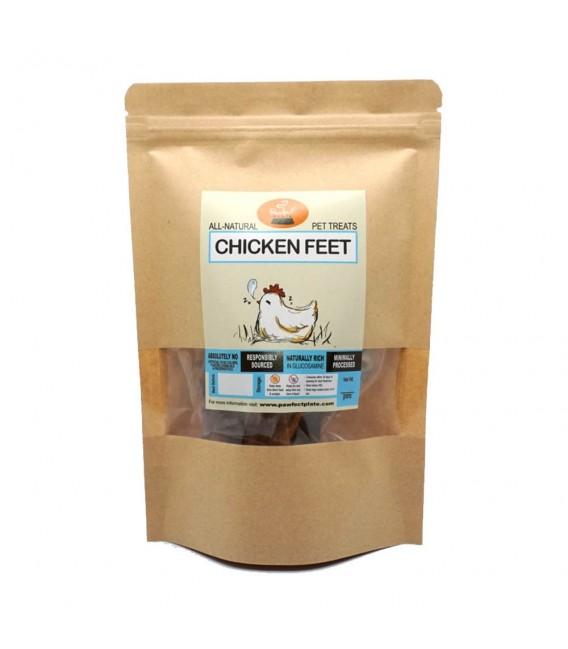 Pawfect Plate Chicken Xanders - CHICKEN FEET 80g Dehydrated Pet Treats