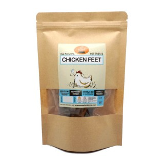 Pawfect Plate Chicken Xanders - CHICKEN FEET 80g Dehydrated Pet Treats