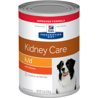 Hill's Prescription Diet Kidney Care k/d with Chicken 370g Dog Wet Food