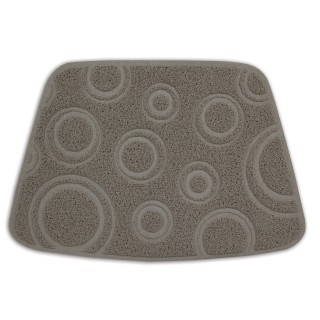 Petmate Wedge Circles Design Litter Mat