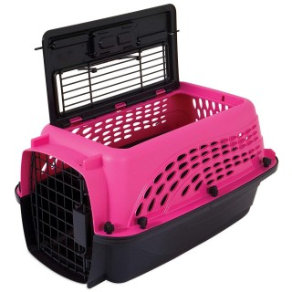 Petmate 2 Door Top Load Kennel Pet Carrier - 19.4x12.8x10in
