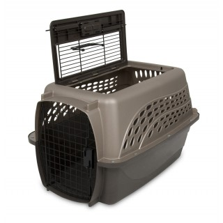 Petmate 2 Door Top Load Kennel Pet Carrier - 24.05x16.75x14.5