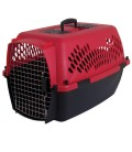 Aspen Pet Fashion Porter Pet Carrier - 26.2x18.6x16.5in (DEEP RED/BLACK)