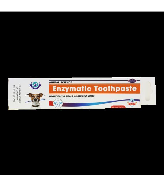 Animal Science Chicken Flavor Enzymatic Toothpaste 70g Dog Toothpaste