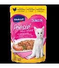 Vitakraft Poesie Deli Sauce JUNIOR with Tender Chicken Fillet in a Fine Sauce 85g Grain Free Cat Wet Food