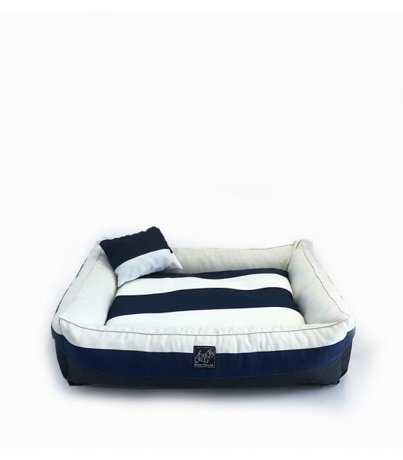 Bow House Snorebox Dark Surfboard Pet Bed