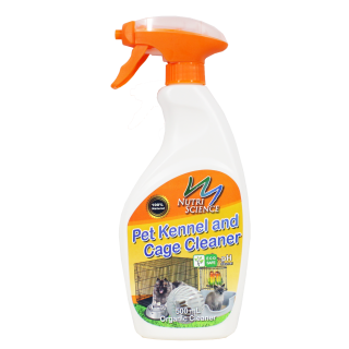 Nutriscience Pet Kennel & Cage Cleaner 500ml Organic Cleaner