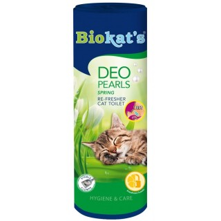 Biokat's Deo Pearls Spring 700g Cat Toilet Re-Fresher