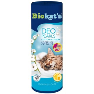 Biokat's Deo Pearls Cotton Blossom 700g Cat Toilet Re-Fresher