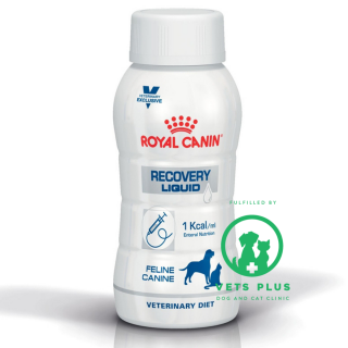 Royal Canin Canine Veterinary Diet RECOVERY LIQUID for Dogs & Cats 200ml (1 bottle)