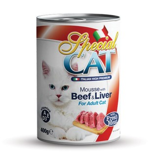Monge Special Cat Mousse with Beef & Liver 400g Cat Wet Food